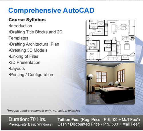 duration 15 hrs prerequisite any revit courses tuition fee reg price p 3800 mall fee cash discounted price p3200 mall fee - Interior Design Syllabus