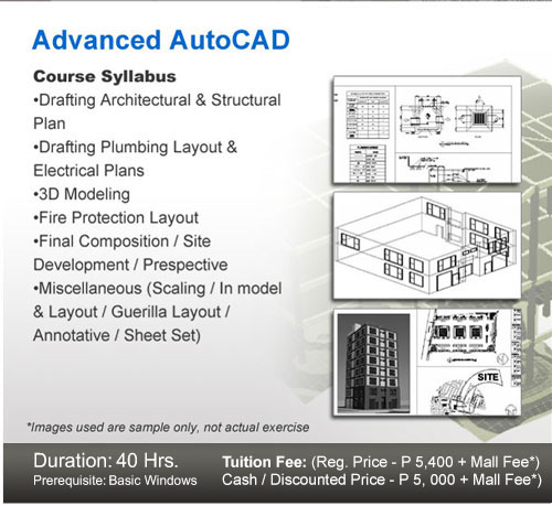 CAD Courses - MICROCADD Institute Inc  - Leader in CAD Training